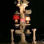 colonna espositiva